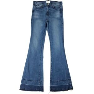 McGuire High-Waisted Flare Jeans with Released Hem